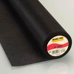 Entoilage Vlieseline léger thermo 90cm noir - 96