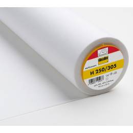 Entoilage Vlieseline raide thermo 90cm blanc - 96