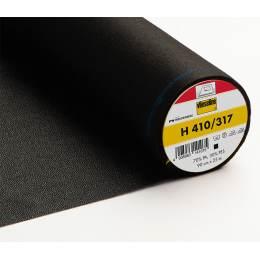 Entoilage souple thermo fil trame 90cm noir - 96