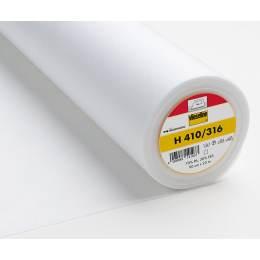 Entoilage souple thermo fil trame 90cm blanc - 96