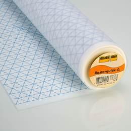 Rasterquick Vlieseline pour patch triangle 90cm - 96