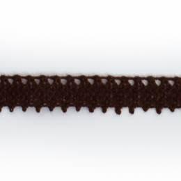 Dentelle 100 % coton fauve - 0,9 cm