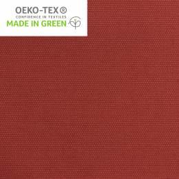 Tissu toile de coton rouge délavé - 98