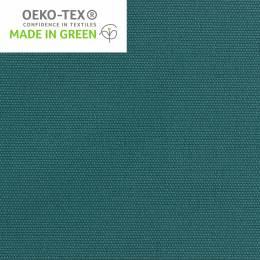 Tissu toile de coton bleu canard - 98