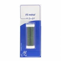 Fil métal fin 20m vert blister - 99