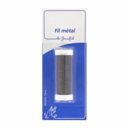 Fil métal fin 20m noir blister - 99
