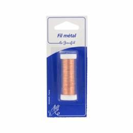 Fil métal fin 20m cuivre(cuivre recuit) blister - 99