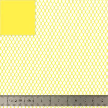 Tissu filet Mesh Fabric jaune - 40
