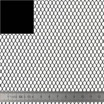 Tissu filet Mesh Fabric noir - 40