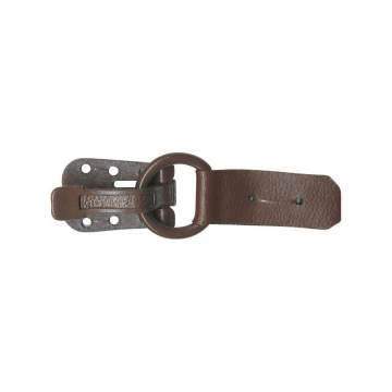 Clip métal imitation cuir - 408