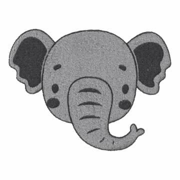Thermocollant éléphant 6 x 5 - 408