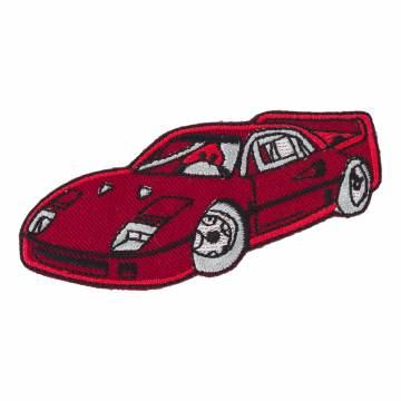 Thermocollant voiture de course 8 x 2 - 408